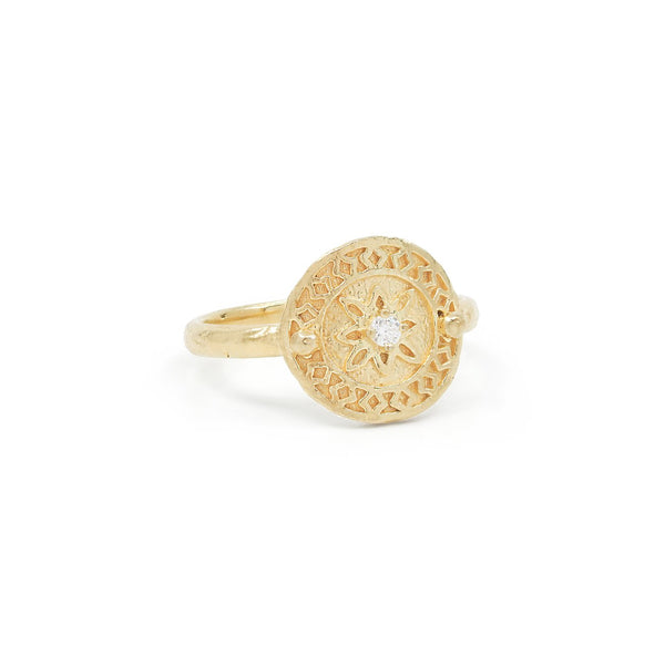 Shop Gold Be Present Ring at Rose St Trading Co