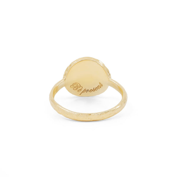 Gold Be Present Ring