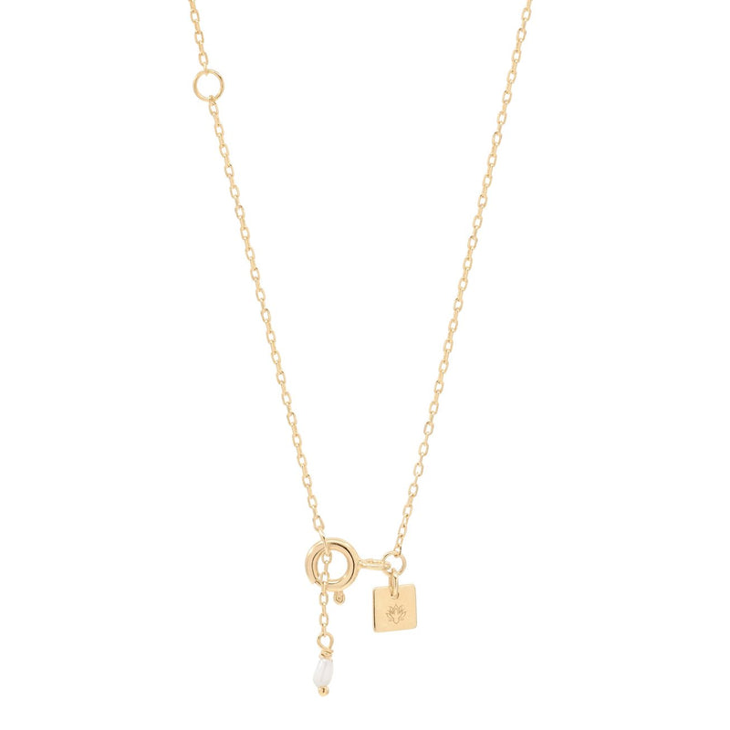 Shop Gold Goddess of Earth Necklace at Rose St Trading Co