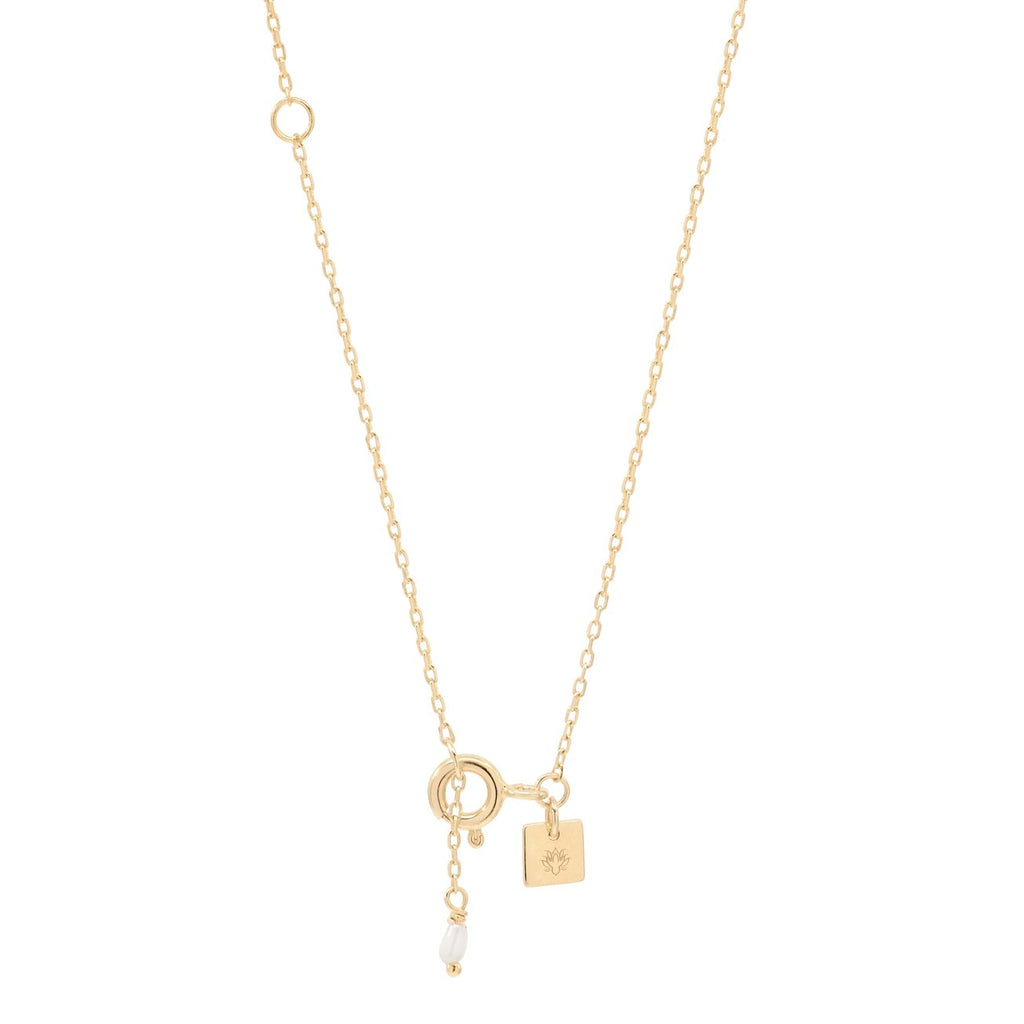Shop Rose Goddess of Gold Water Necklace at Rose St Trading Co