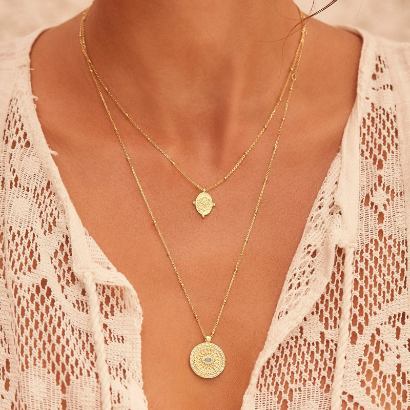 Shop Gold Path of Life Necklace at Rose St Trading Co