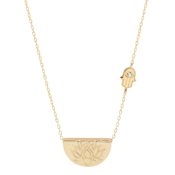 Shop Gold Sacred Guardian Necklace at Rose St Trading Co