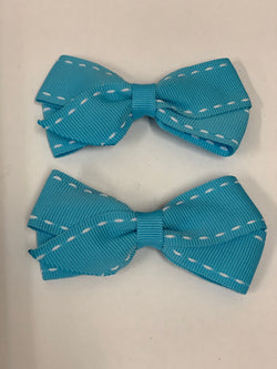 Shop Large Grosgrain Ribbon Bows | Assorted Colours + Patterns at Rose St Trading Co