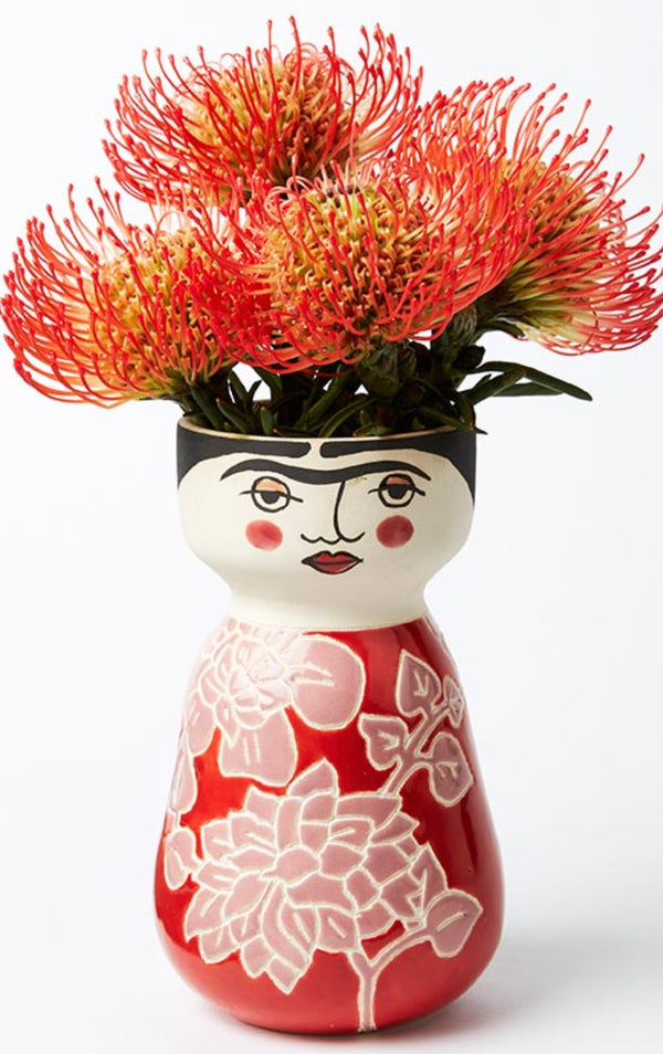 Shop Rosy Frida Vase - NEW - PREORDER MAY DELIVERY at Rose St Trading Co