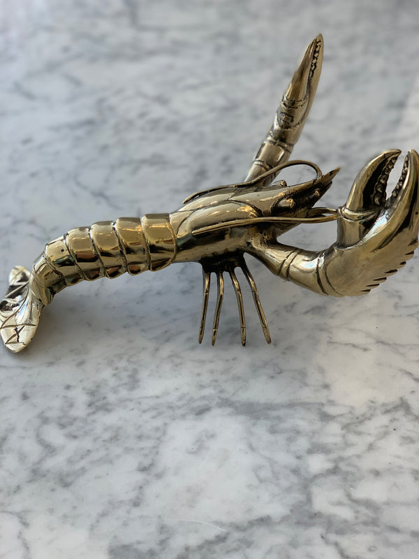 Shop Gold Lobster - Large at Rose St Trading Co