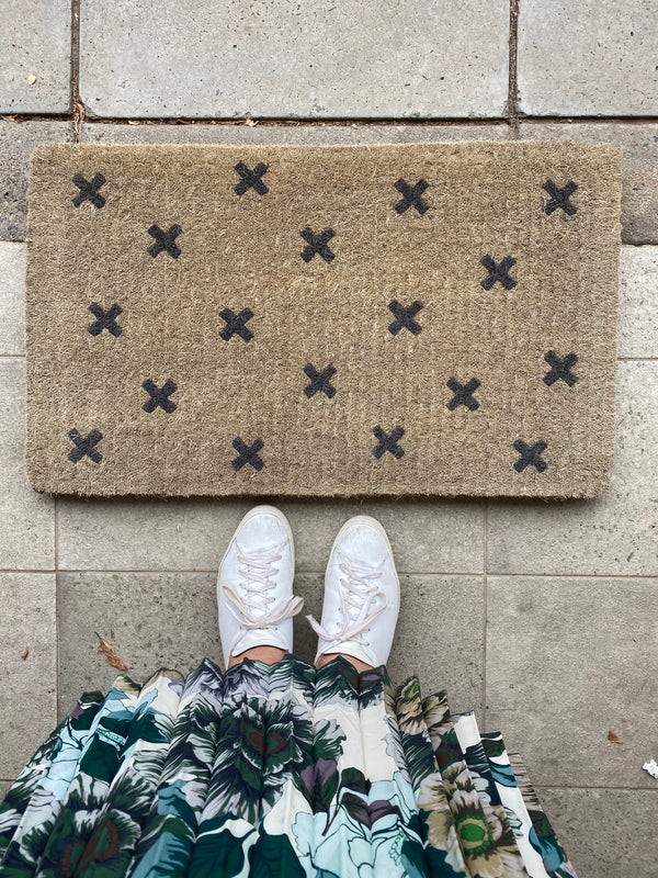Shop Doormat Cross at Rose St Trading Co