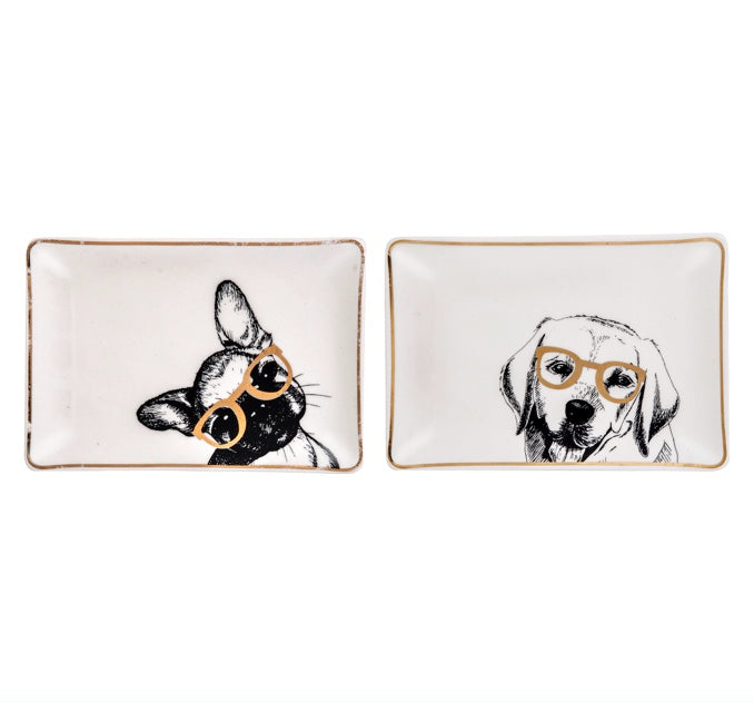 Shop Frenchie Lab Trinket Plates at Rose St Trading Co