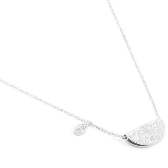 Shop Silver Love Deeply Necklace at Rose St Trading Co