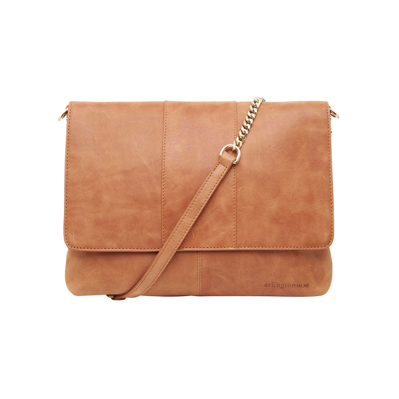 Shop Isabella Tote | Vintage Tan at Rose St Trading Co