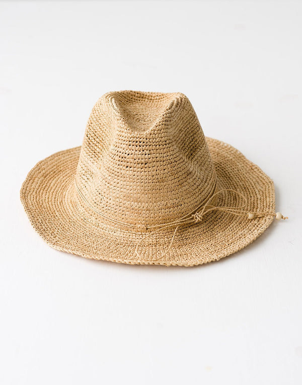 Shop Elya New Billy Hat | Natural at Rose St Trading Co