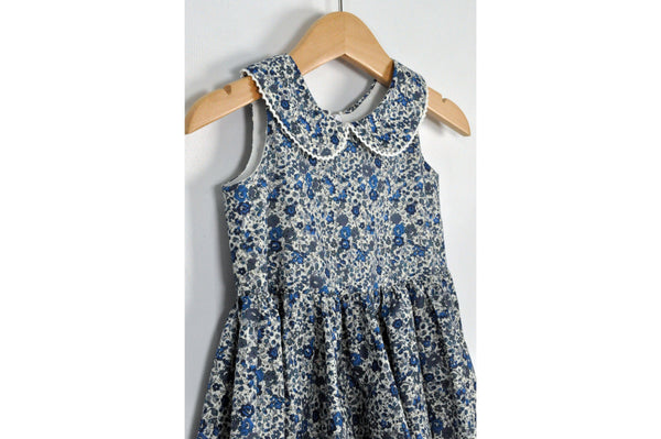 Shop Liberty Girls Dress - Blue Floral at Rose St Trading Co