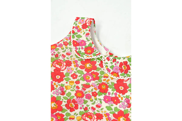 Shop Liberty Girls Dress - Red Betsy at Rose St Trading Co
