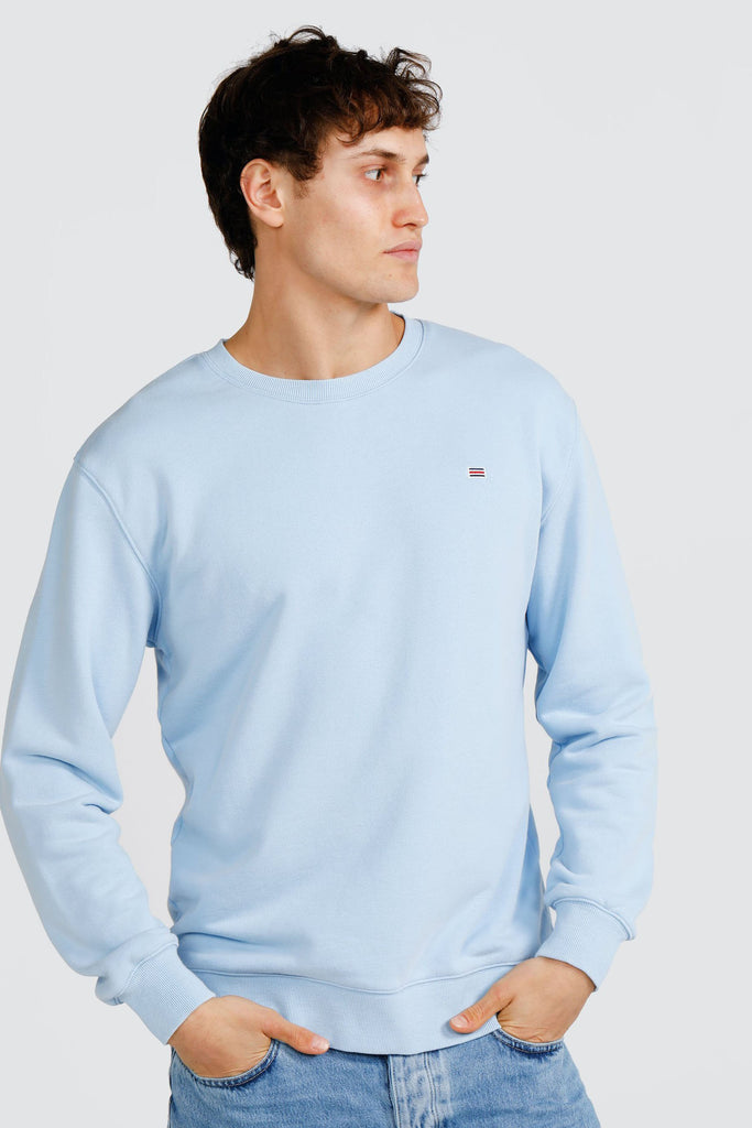 Shop Basic Crew | Pale Blue at Rose St Trading Co