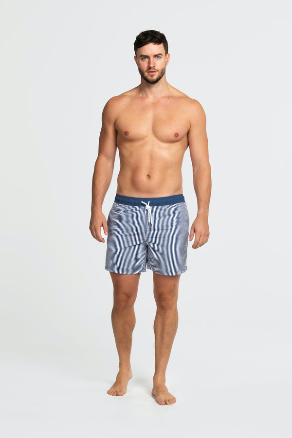 Shop Swim Shorts | Manly Navy at Rose St Trading Co