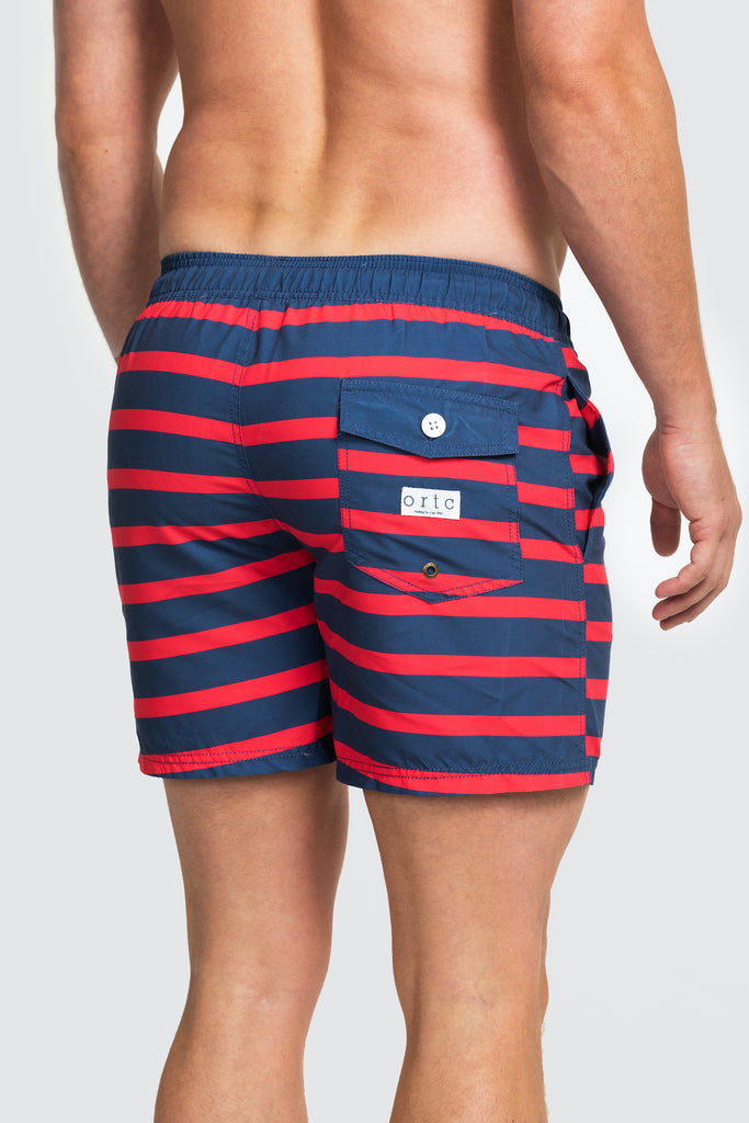 Shop Swim Shorts | Port Willunga Red at Rose St Trading Co
