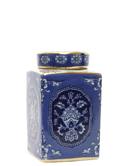 Shop Blue and White Azure Jar at Rose St Trading Co