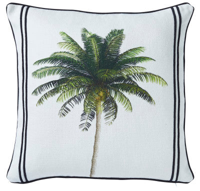 Shop Bahamas Palm Cushion - 50x50cm at Rose St Trading Co