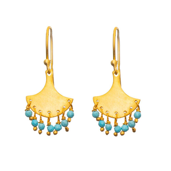 Shop Splash Turquoise Earrings at Rose St Trading Co
