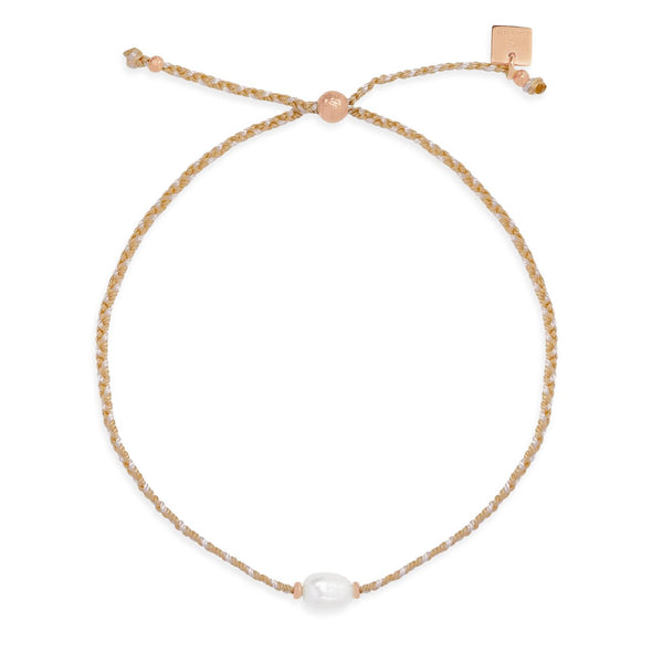 Shop Rose Gold Eternal Peace Bracelet at Rose St Trading Co