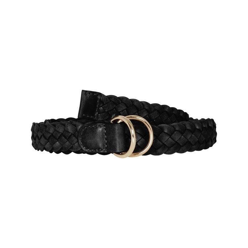 Shop Plaited Belt | Black at Rose St Trading Co