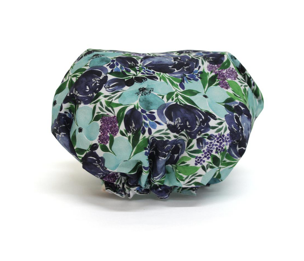 Shop Shower Cap Flourish Blues at Rose St Trading Co