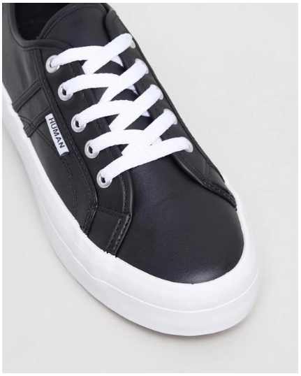 Shop Leather Sneaker | Black at Rose St Trading Co