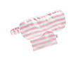 Shop Silk Eye Mask- Pink and White Stripe at Rose St Trading Co