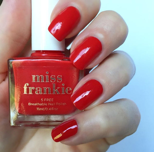 Shop Miss Frankie Nail Polish - Send Hearts Racing at Rose St Trading Co