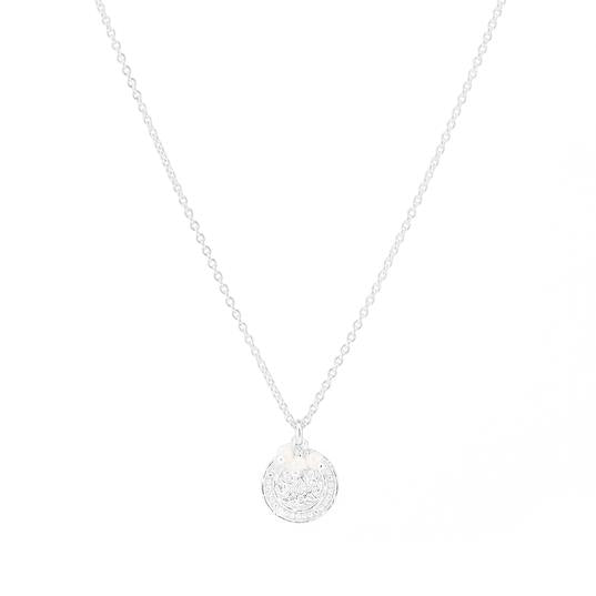 Shop Silver Lotus Rising Necklace at Rose St Trading Co