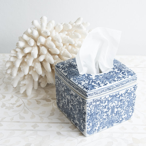 Shop Chinoiserie Small Tissue Box at Rose St Trading Co