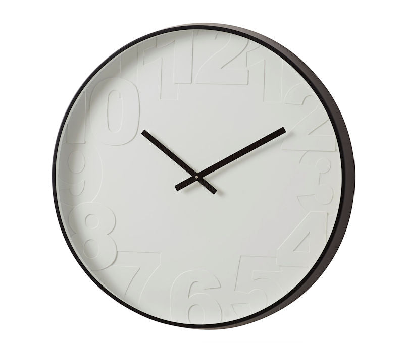 Shop Clock Black Metal Frame at Rose St Trading Co