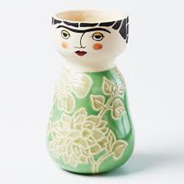 Shop Frida Face Vase- PRE ORDER FOR MAY DELIVERY at Rose St Trading Co