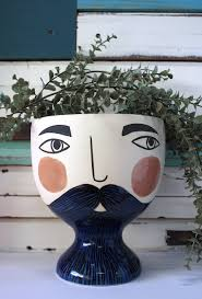 Shop Mr Enzo Planter- PRE ORDER FOR MAY DELIVERY at Rose St Trading Co