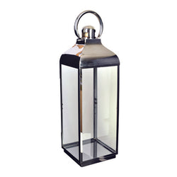 Shop Silver Lantern | 62cm Square at Rose St Trading Co