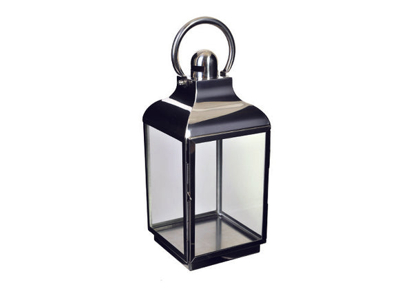 Shop Silver Lantern | 38cm Square at Rose St Trading Co