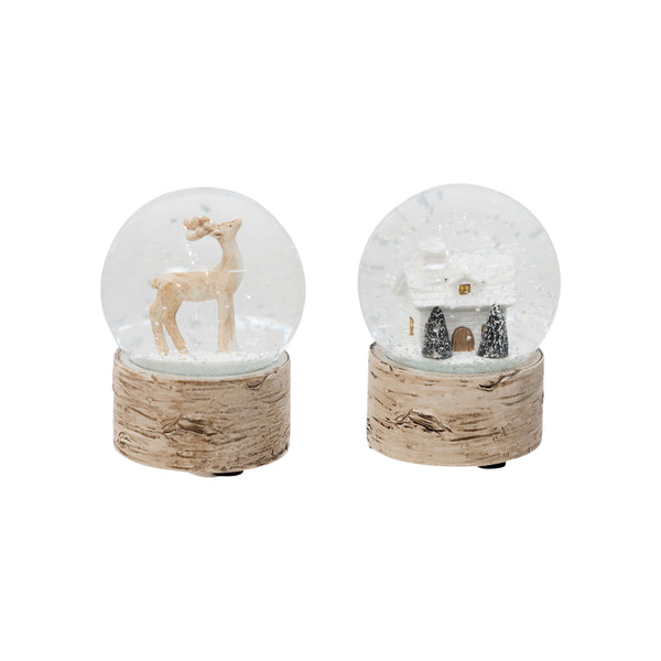 Shop Snow Domes Birch Assorted at Rose St Trading Co