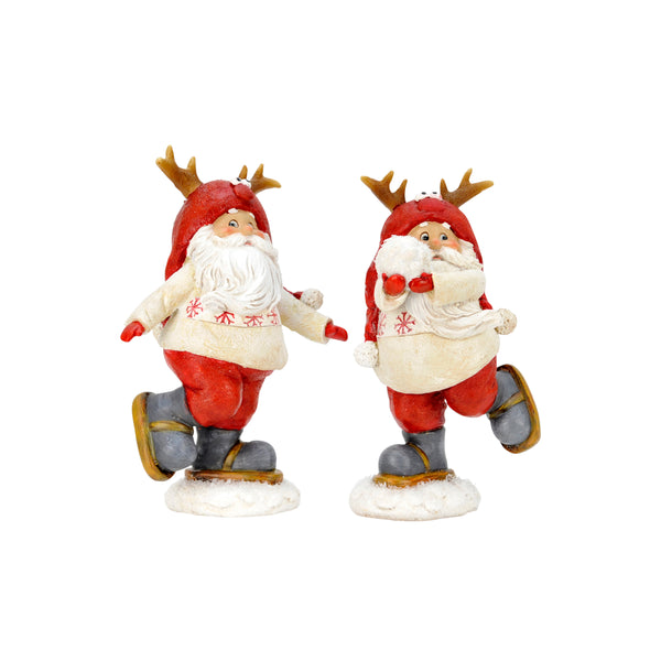 Shop Skating Santa Decoration assorted at Rose St Trading Co