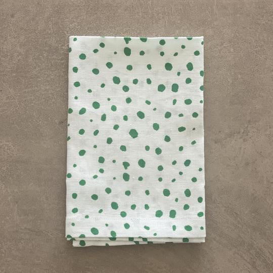 Shop Pebble Napkin | Green at Rose St Trading Co