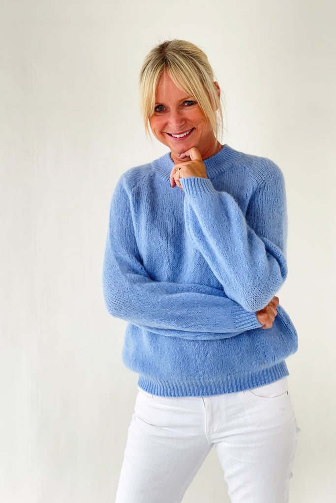 Shop Jumper | Baby Blue at Rose St Trading Co