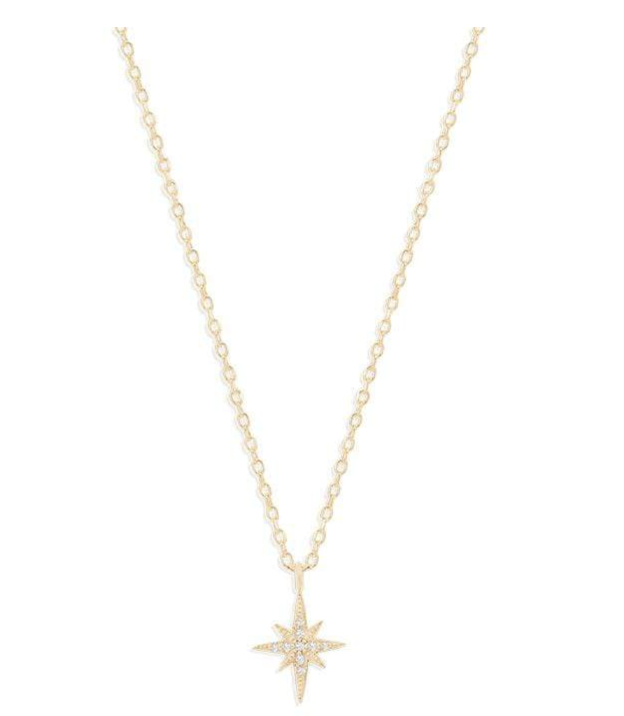 Shop Gold Starlight Necklace at Rose St Trading Co