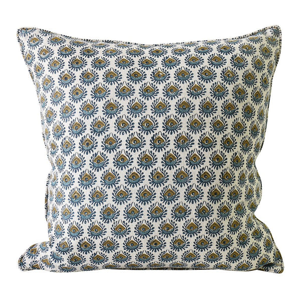 Shop Lyon Tobacco Linen Cushion at Rose St Trading Co