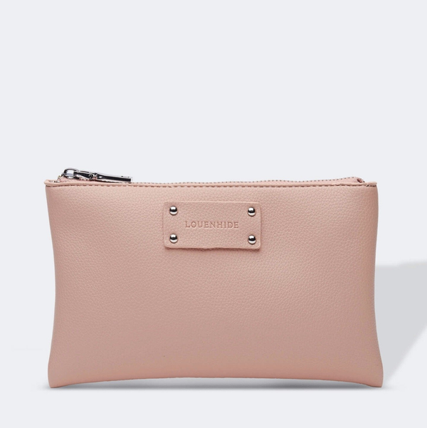Shop Farrah Clutch Bag | Nude at Rose St Trading Co