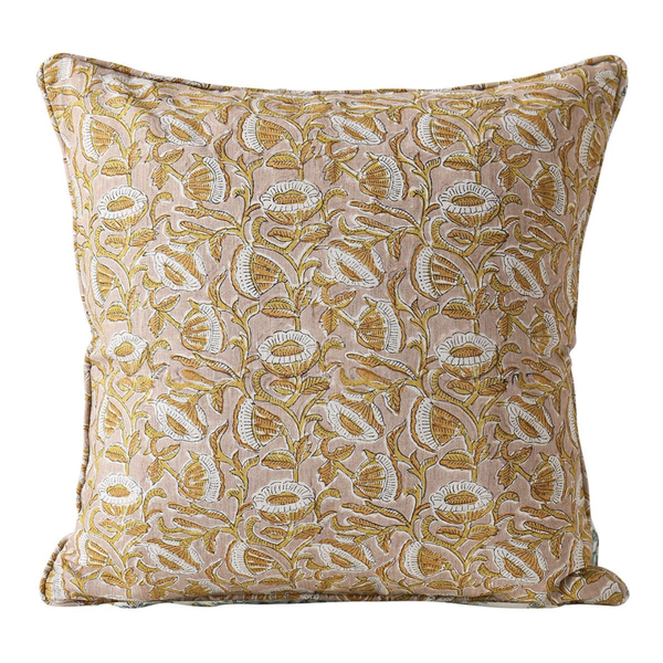 Shop Marbella Petal Linen Cushion at Rose St Trading Co