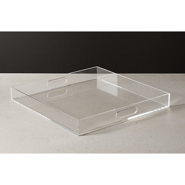 Shop Acrylic Square Tray 40cm at Rose St Trading Co