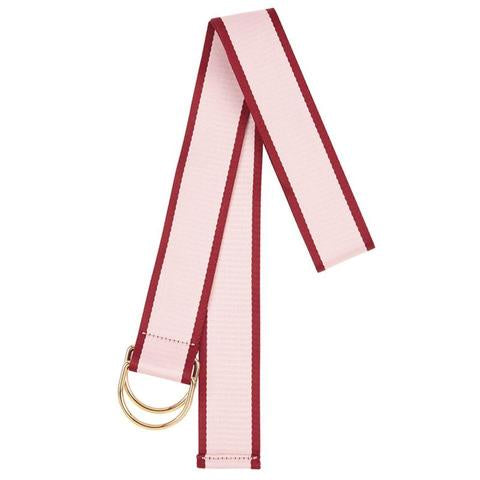 Shop Cotton Belt | Pink with Maroon Edge at Rose St Trading Co