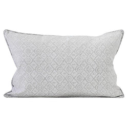 Shop Kepos Chalk Linen Cushion | 35 x 55cm at Rose St Trading Co