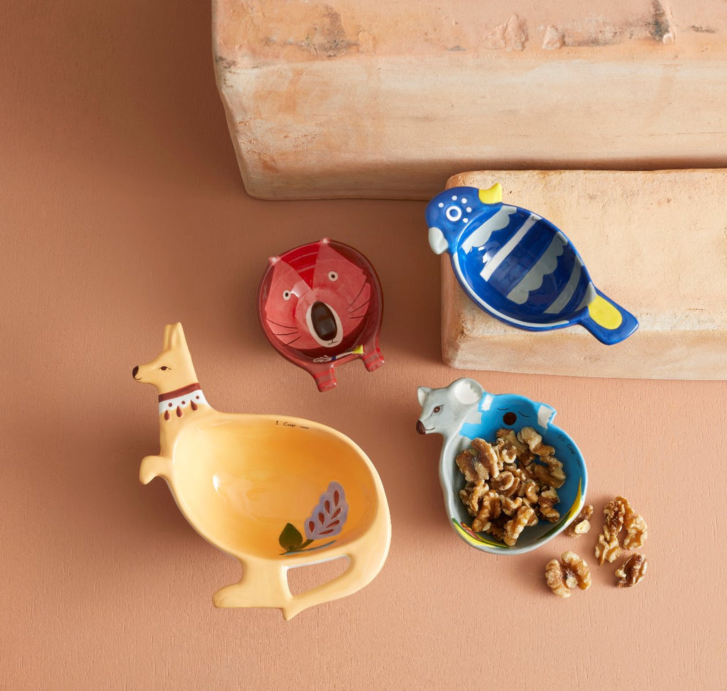 Shop Fauna Measuring Cups Set 4 at Rose St Trading Co