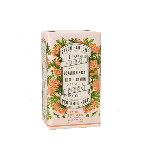 Shop Rose Geranium Wrapped Soap at Rose St Trading Co
