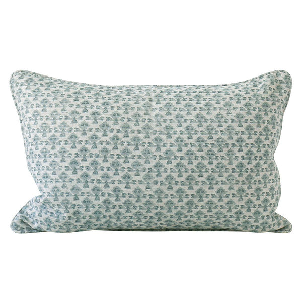 Shop Montenegro Celadon Linen Cushion at Rose St Trading Co