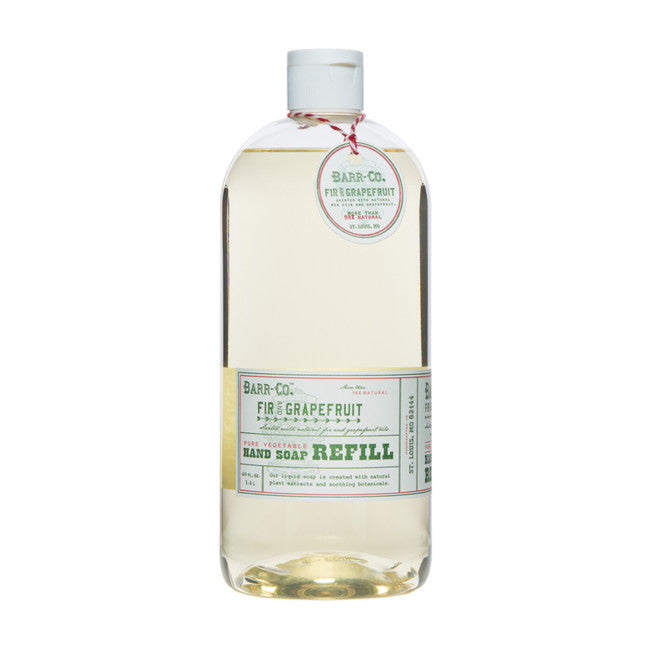 Shop Barr-Co Fir & Grapefruit Liquid Soap Refill at Rose St Trading Co